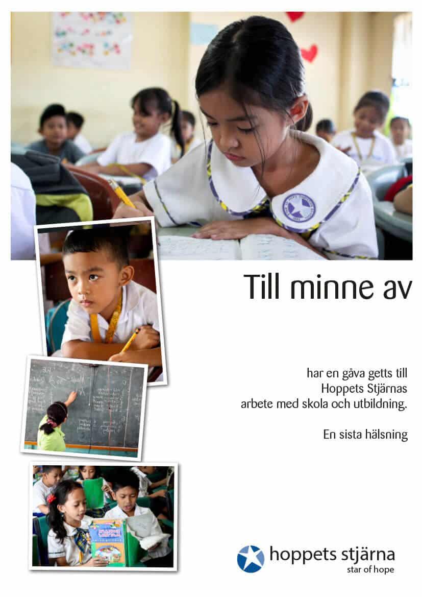 Minnestelegram skola och utbildning
