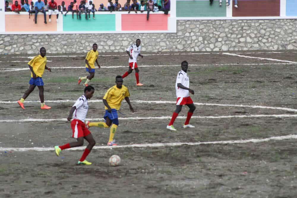 Fotbollsyra på landsbygden